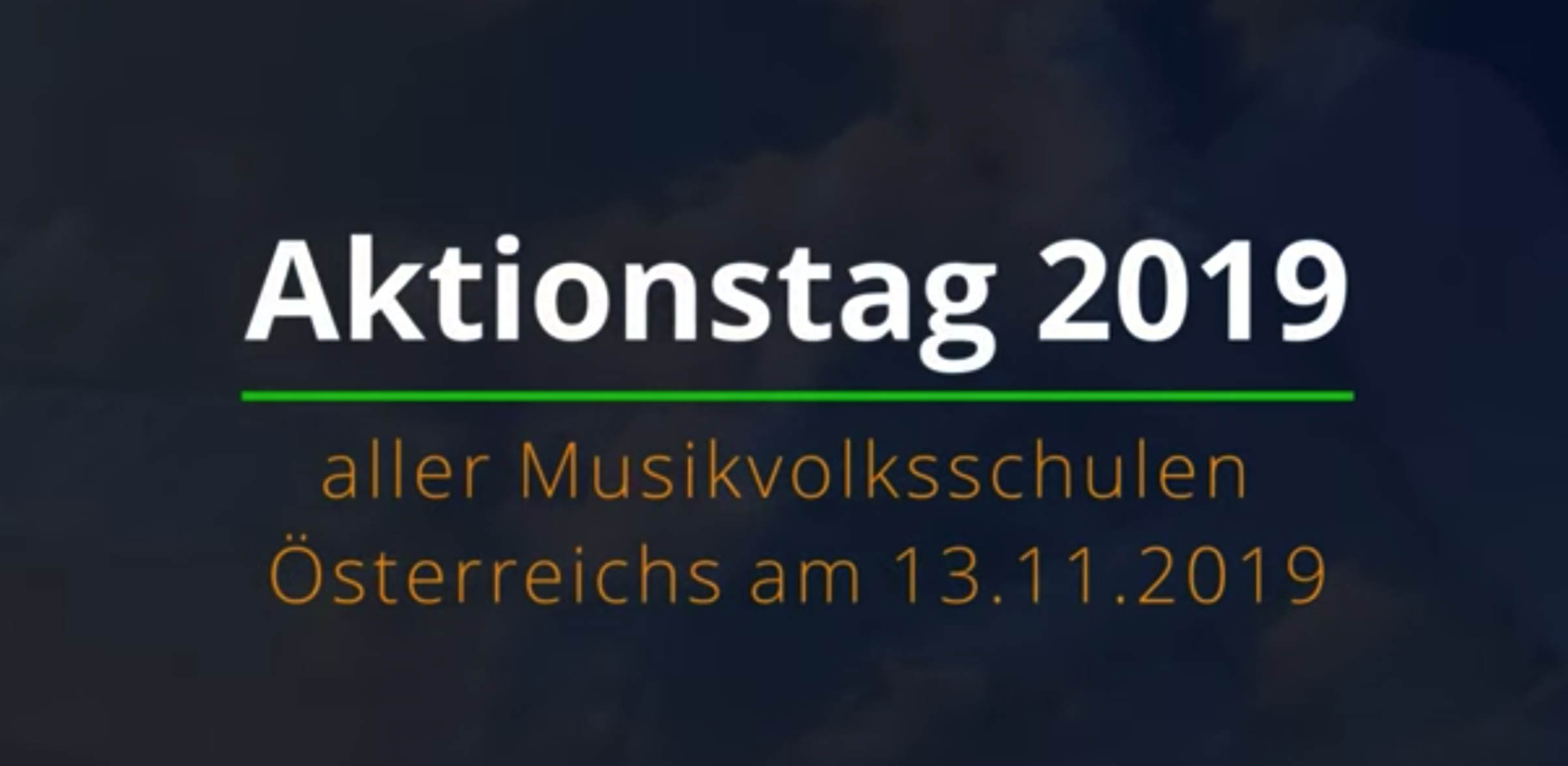 Video Aktionstag der Musikvolksschulen 2019