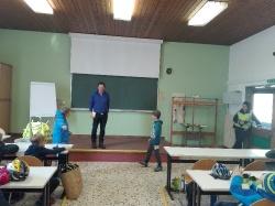 Radfahrprüfung der 4. Klassen